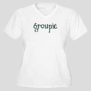 Groupie Women's Plus Size V-Neck T-Shirt