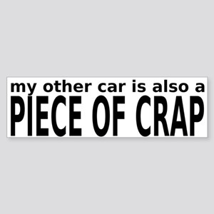 crapcar Bumper Sticker