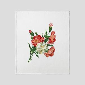 carnation Throw Blanket