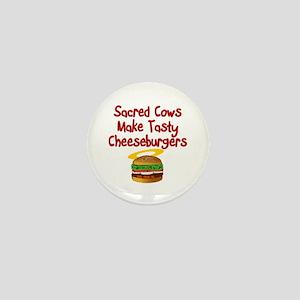 Sacred Cows Mini Button