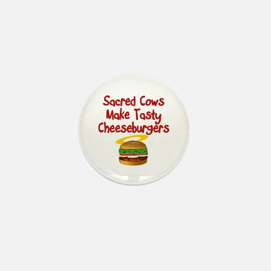 Sacred Cows Mini Button