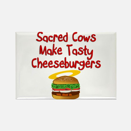 Sacred Cows Rectangle Magnet