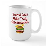 Sacred Cows Large Mug