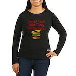 Sacred Cows Women's Long Sleeve Dark T-Shirt
