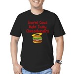 Sacred Cows Men's Fitted T-Shirt (dark)