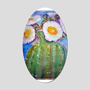 Cactus, bright, 22x14 Oval Wall Peel