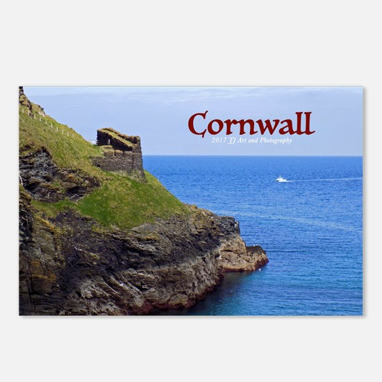 Cornwall Tintagel Wall Postcards (package Of 8)