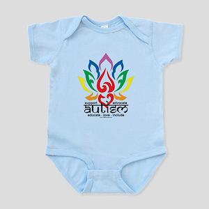 Autism Lotus Flower Infant Bodysuit