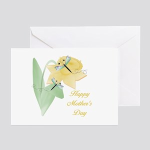 Happy Mother's Day (daffodil) Greeting Cards (Pack