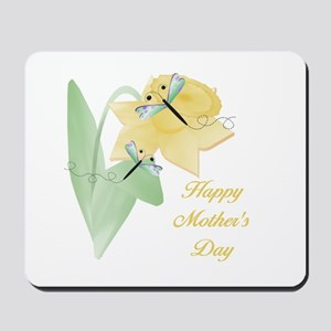 Happy Mother's Day (daffodil) Mousepad