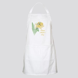 Happy Mother's Day (daffodil) BBQ Apron