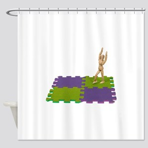 ReadyTumbleMat112809 copy Shower Curtain
