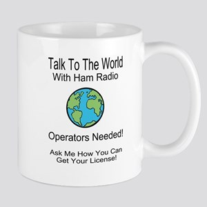 Talk To The World Ham Radio Mug