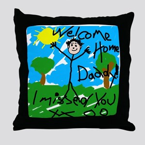I Missed You! Throw Pillow