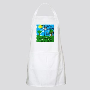 I Missed You! BBQ Apron