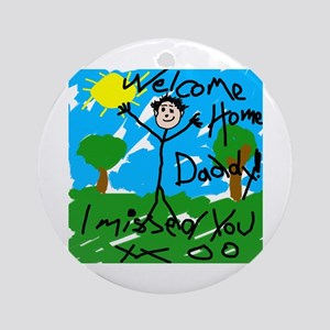 I Missed You! Ornament (Round)