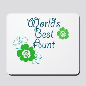 World's Best Aunt Mousepad