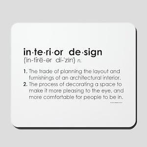 interior design DEFINITION Mousepad