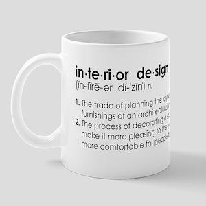 interior design DEFINITION Mug