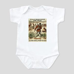 USSR Soviet Guns & Hoes Infant Creeper