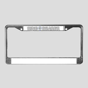 RING BEARER License Plate Frame