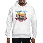 Joe Biker Design Hooded Sweatshirt