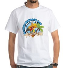 Mexican Parrot White T-Shirt