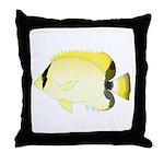 Reef Butterflyfish Throw Pillow