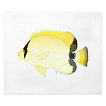 Reef Butterflyfish King Duvet