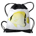 Reef Butterflyfish Drawstring Bag