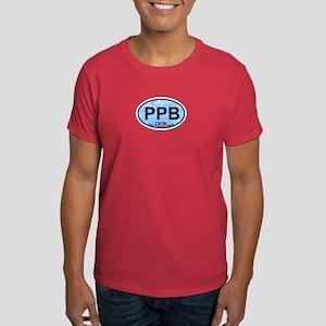 Point Pleasant Beach NJ - Oval Design Dark T-Shirt