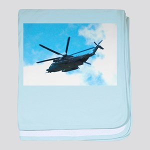 Pave Low Copter baby blanket
