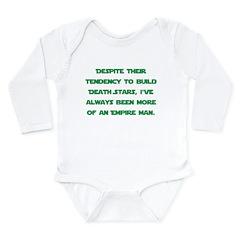 big-5c Long Sleeve Infant Bodysuit