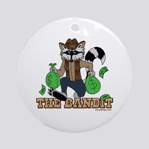 The Bandit Ornament (Round)