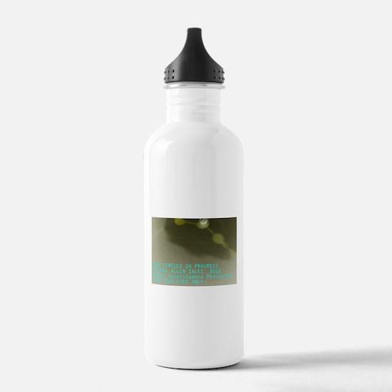 Crop Circles In Progress Water Bottle