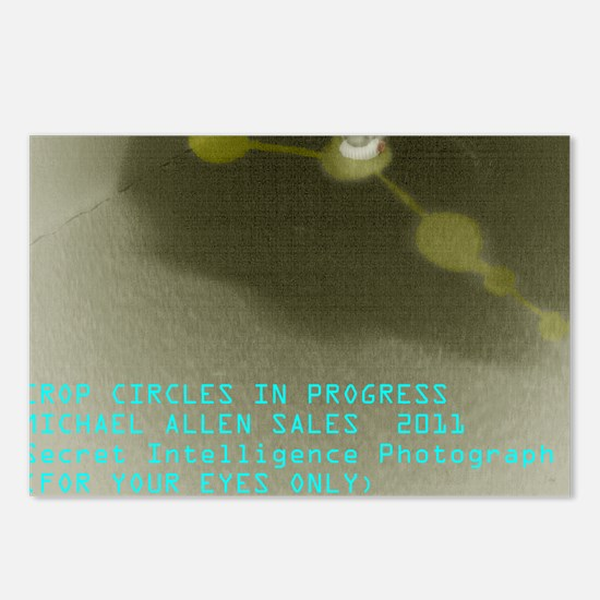 Crop Circles In Progress Postcards (Package of 8)