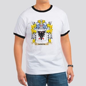 Worth Family Crest - Coat of Arms T-Shirt