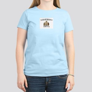 Maid of Honour DIVA Women's Light T-Shirt