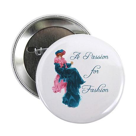 A Passion for Fashion Vintage Button