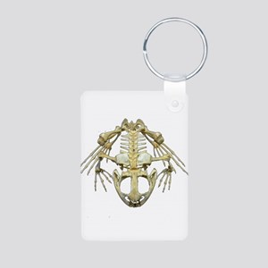 Starving Frog Aluminum Photo Keychain