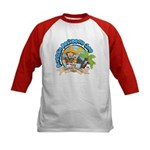 Mexico Parrot Kids Baseball Jersey