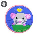 "rat 3.5"" Button (10 pack)"