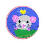 """rat 3.5"""" Button"""
