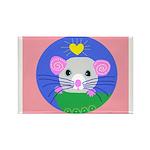 rat Rectangle Magnet (100 pack)