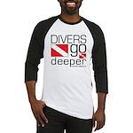 Divers go Deeper Baseball Jersey