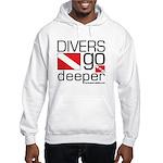 Divers go Deeper Hooded Sweatshirt