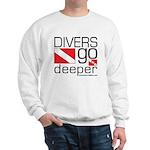 Divers go Deeper Sweatshirt