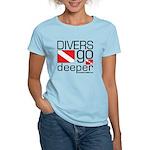 Divers go Deeper Women's Light T-Shirt
