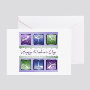 Happy Mother's Day (dragonflies) Greeting Cards (P