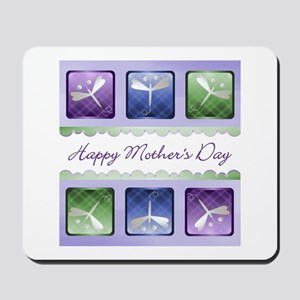 Happy Mother's Day (dragonflies) Mousepad
